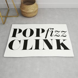 Pop Fizz Clink Rug