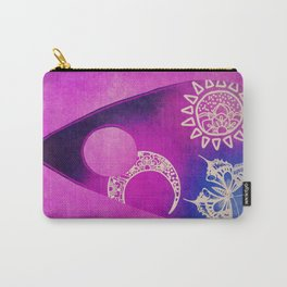 Purple Pretty Ouija Planchette, Occult Art, Ouija Art Carry-All Pouch