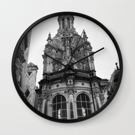 Gothic French Architecture Wall Clock