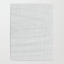 Gray Weathered Wood Poster
