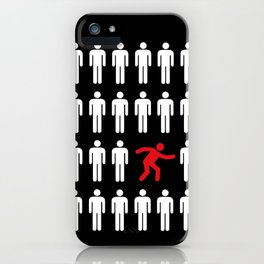 be different, be yourself iPhone Case