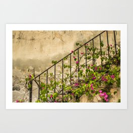 Going up or down? Art Print
