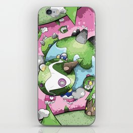 Our Own Little Worlds iPhone Skin