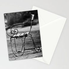 Solitary Park Bench Stationery Cards
