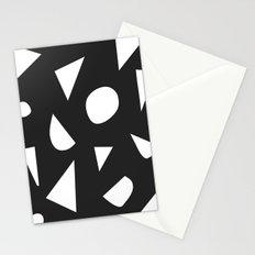 Boom on Black Stationery Cards