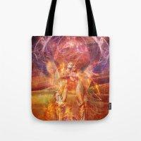 phoenix Tote Bags featuring Phoenix by Aimee Stewart