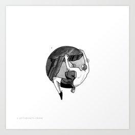 2017 Inktober #9 Art Print