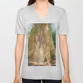 "Mountain Ash Tree (Aka ""The Big Boy"") Unisex V-Neck"