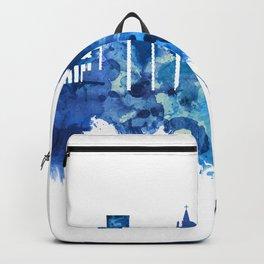 Guayaquil Ecuador Skyline Blue Backpack
