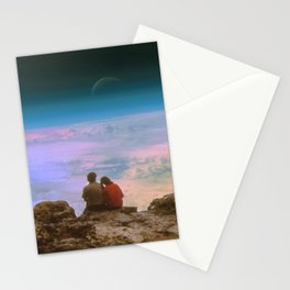 Love is looking in the same direction Stationery Cards