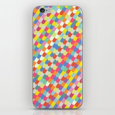 color tiles iPhone & iPod Skin