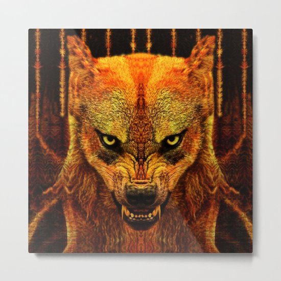 Canis Lupus I Metal Print