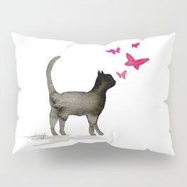 I Love Cats No. 3a by Kathy Morton Stanion Pillow Sham