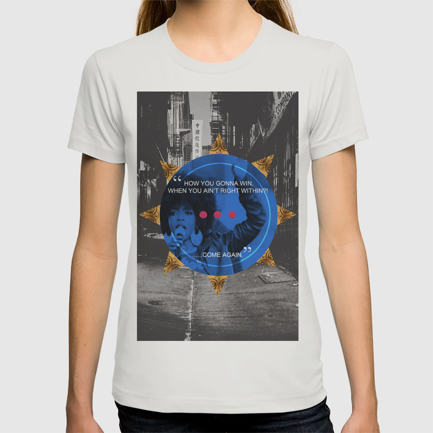 c53db258 Lauryn Hill tribute T-shirt by artistofculture | Society6