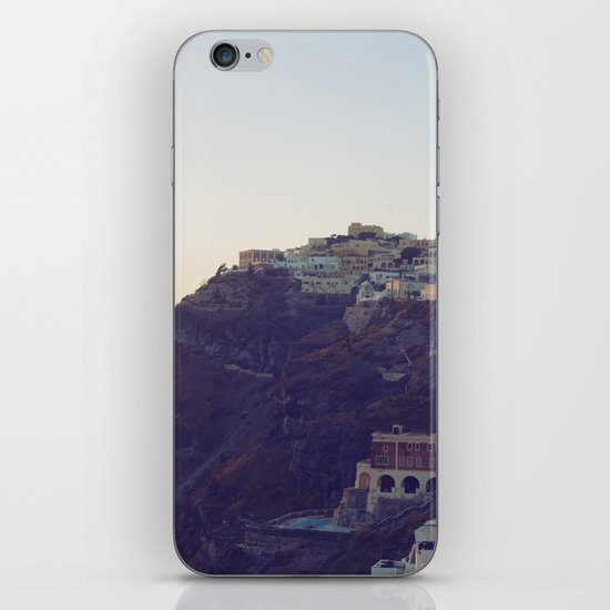 Fira at Dusk III iPhone & iPod Skin