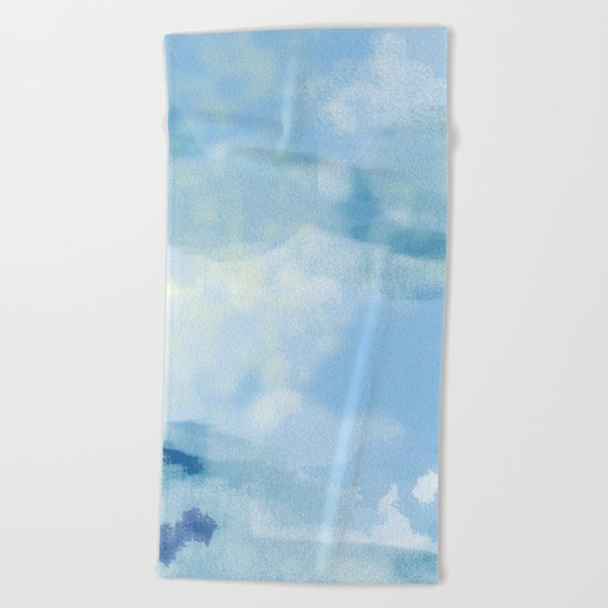 Big Sky Beach Towel