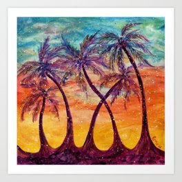 Tropical Vision Art Print
