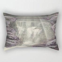 Purple Waterfall Rectangular Pillow