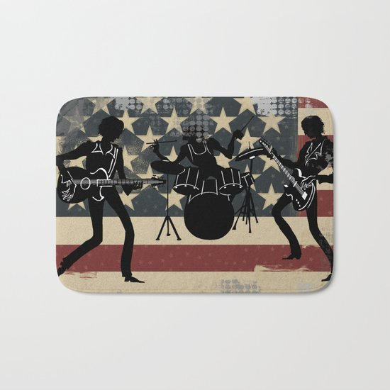 Rock America Bath Mat