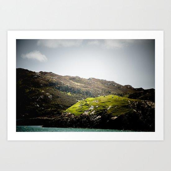 Inishbofin Island Art Print
