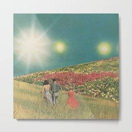 Towards the suns Metal Print