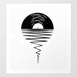 Record Sunsets Art Print