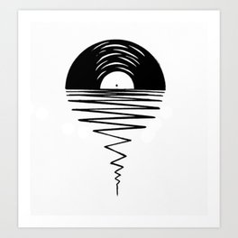 Record Sunsets Art Print