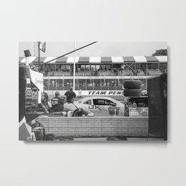 Camaro in the Pits (Belle Isle Grand Prix 2016) Metal Print