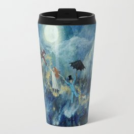An Awfully Big Adventure - Peter Pan - Nursery Decor Travel Mug