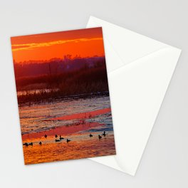 Duck Hole 2 Stationery Cards