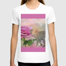 The Rose and the Leopard T-shirt