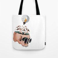 imagine Tote Bags featuring Imagine by PAFF