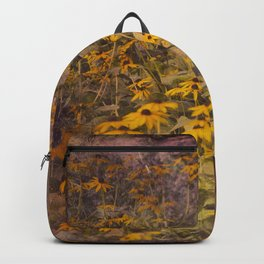 Yellow Jungle Backpack