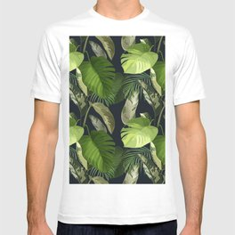 Tropical Leaf Pattern 1 T-shirt