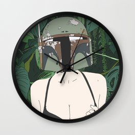 Halo Wall Clock