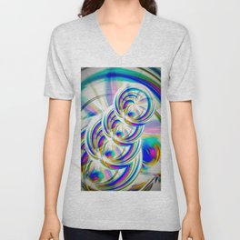 Abstract Perfection 22 Unisex V-Neck