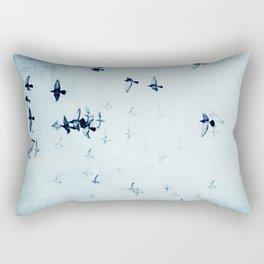 birds II Rectangular Pillow
