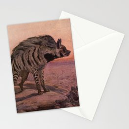 Vintage Hyena Painting (1909) Stationery Cards