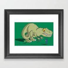 Under ArREXt Framed Art Print