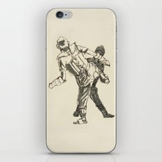 Tae Kwon Do Sparring iPhone & iPod Skin