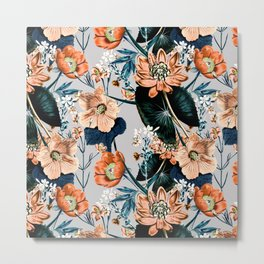 Flowering autumnal botanic Metal Print