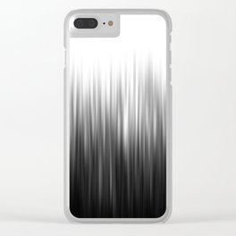 CURTAIN OF STRIPES Clear iPhone Case