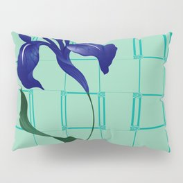 High Rise Iris Pillow Sham