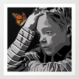 """""""God bless the child"""" 102 Art Print"""