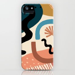 Shapes Party iPhone Case