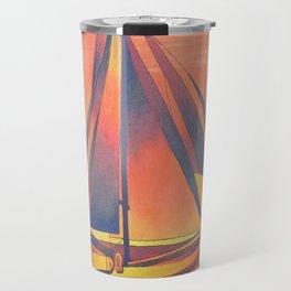Sienna Sails at Sunset Travel Mug