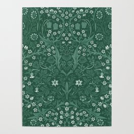 "William Morris ""Blackthorn"" 4. Poster"