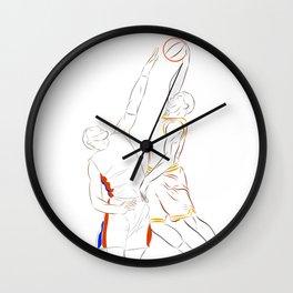 Slam Dunk Wall Clock