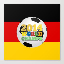 2014 World Champs - Germany Canvas Print