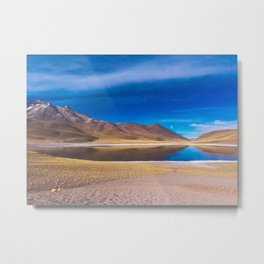 Laguna Miscanti, San Pedro de Atacama Desert, Chile Metal Print